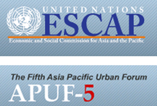 5th Asia-Pacific Urban Forum and side events