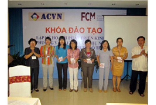 "Training course ""LED Strategic Planning and The role of women in municipal economic development"" in Vung Tau City"