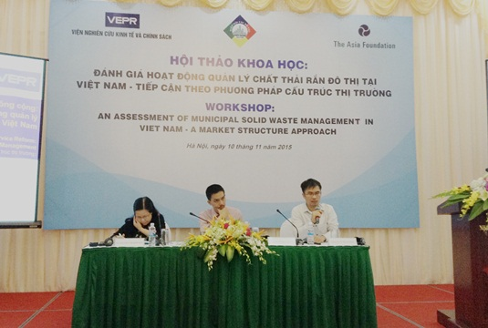 CONSULTING CENTER OF VIETNAM URBAN DEVELOPMENT