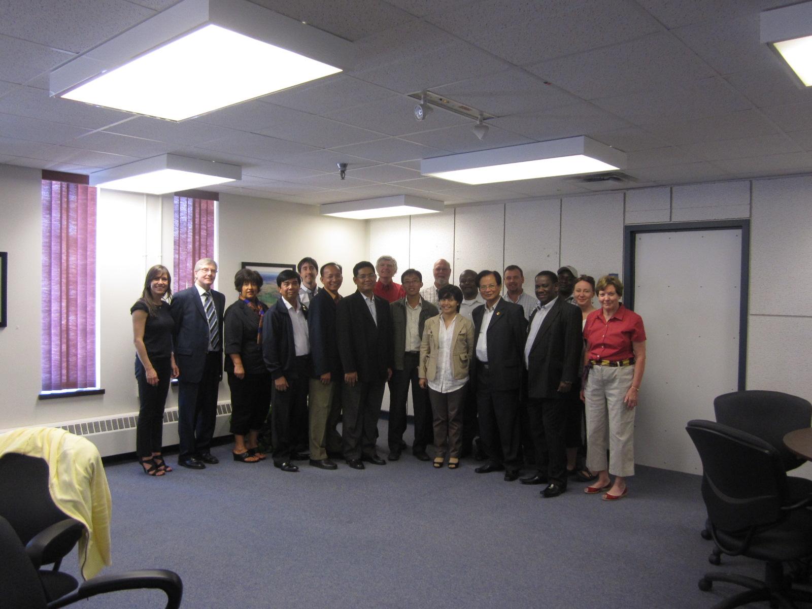 Chuyến tham quan khảo sát tại Canada Chương trình Đối tác Đô thị Phát triển Kinh tế MPED
