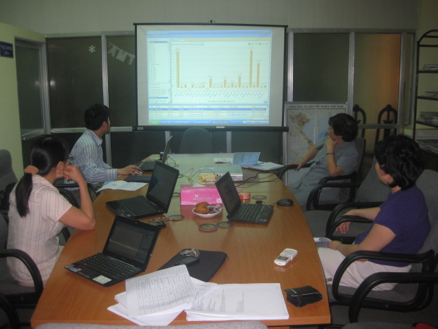 Tập huấn sử dụng phần mềm nhập dữ liệu Bộ chỉ số đô thị Việt Nam